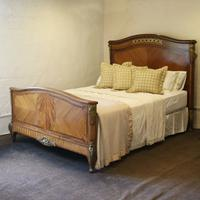 French Empire Style Mahogany Bed c.1900