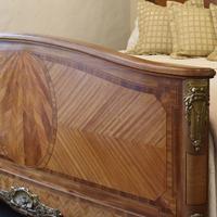 French Empire Style Mahogany Bed c.1900 (4 of 12)