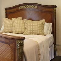 French Empire Style Mahogany Bed c.1900 (5 of 12)