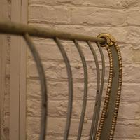 Gilded Cast Iron Daybed c.1900 (4 of 15)