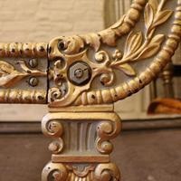Gilded Cast Iron Daybed c.1900 (10 of 15)