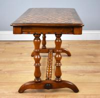 Victorian Walnut Parquetry Coffee Table (2 of 9)