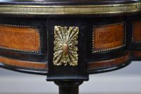 Victorian Burr Walnut Kidney Shaped Writing Table by Gillow (13 of 19)
