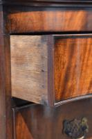 Antique Flame Mahogany Serpentine Chest On Chest (5 of 6)