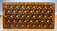 Victorian Walnut & Parquetry Inlaid Coffee Table (3 of 7)
