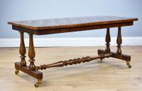 Victorian Walnut & Parquetry Inlaid Coffee Table (2 of 7)