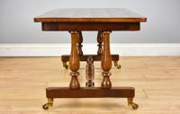 Victorian Walnut & Parquetry Inlaid Coffee Table (4 of 7)