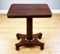 William IV Flame Mahogany Occasional Table (3 of 5)