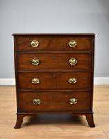 Small Antique Mahogany Chest of Drawers (2 of 6)