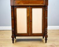 Regency Rosewood & Brass Inlaid Chiffonier (10 of 12)