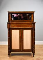 Regency Rosewood & Brass Inlaid Chiffonier (11 of 12)