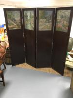 Oak Screen Room Divider