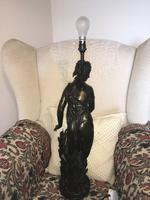 Metal Lady Table Lamp (2 of 4)