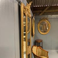 Large French Gilt Margin Frame Mirror 66'' (8 of 8)