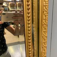 Large French Gilt Margin Frame Mirror 66'' (7 of 8)