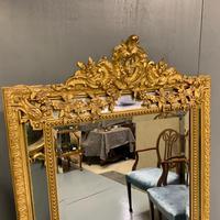 Large French Gilt Margin Frame Mirror 66'' (4 of 8)