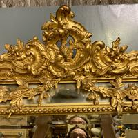 Large French Gilt Margin Frame Mirror 66'' (6 of 8)