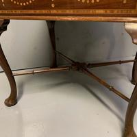 Edwardian Marquetry Piano Stool (2 of 7)