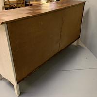 French Painted Sideboard with Oak Top c.1930 (11 of 12)