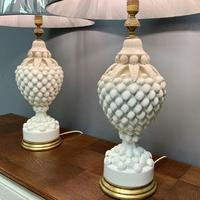 """Large Pair of Spanish Lamps by """"Bondia"""" of Manises (4 of 12)"""