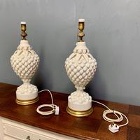 """Large Pair of Spanish Lamps by """"Bondia"""" of Manises (6 of 12)"""