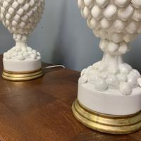 """Large Pair of Spanish Lamps by """"Bondia"""" of Manises (7 of 12)"""