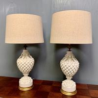 """Large Pair of Spanish Lamps by """"Bondia"""" of Manises (5 of 12)"""