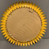 Spanish Gilt Sunburst Mirror (6 of 6)