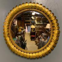 Spanish Gilt Sunburst Mirror (5 of 6)