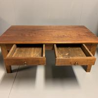 French Cherry Coffee Table with 2 Drawers (4 of 8)