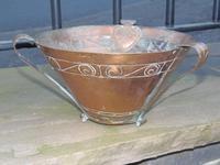 Arts & Crafts Celtic Copper Vase / Bowl