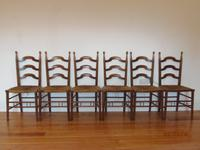 William Birch Set of Six Chairs