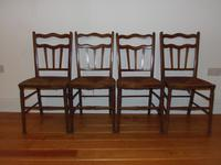 Arts & Crafts Set of Four Dining Chairs Possibly by William Birch