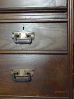 E.A.Taylor For Wylie & Lochhead Oak Secretaire Bookcase (4 of 9)