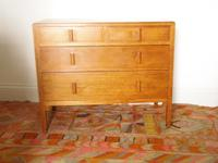 Heals Blond Oak 1930'S Chest of Drawers