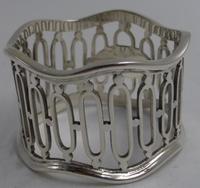 Antique Silver Napkin Ring. Sheffield 1910