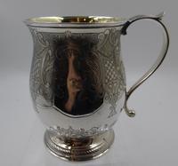 Antique William IV Silver Mug / Tankard. London 1834
