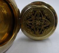 Antique Victorian Silver Vinaigrette & Scent Bottle. London 1873 (6 of 10)