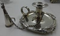Antique William IV Silver Inkstand. London 1832 (8 of 20)