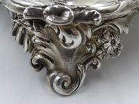 Antique William IV Silver Inkstand. London 1832 (14 of 20)