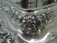 Antique William IV Silver Inkstand. London 1832 (15 of 20)