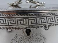 Antique George III Silver Tea Caddy. London 1774 (5 of 12)