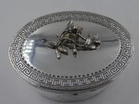 Antique George III Silver Tea Caddy. London 1774 (6 of 12)