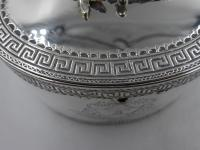 Antique George III Silver Tea Caddy. London 1774 (7 of 12)