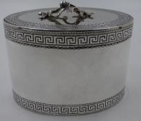 Antique George III Silver Tea Caddy. London 1774 (9 of 12)