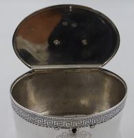 Antique George III Silver Tea Caddy. London 1774 (10 of 12)