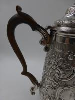 Antique George IV Silver Coffee Pot. London 1823 (3 of 16)