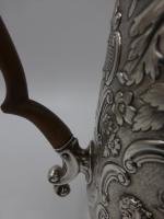 Antique George IV Silver Coffee Pot. London 1823 (4 of 16)