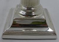 Pair of Antique Victorian Silver Candlesticks. Sheffield 1879 (3 of 8)