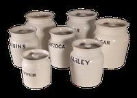 White Storage Jars (3 of 4)